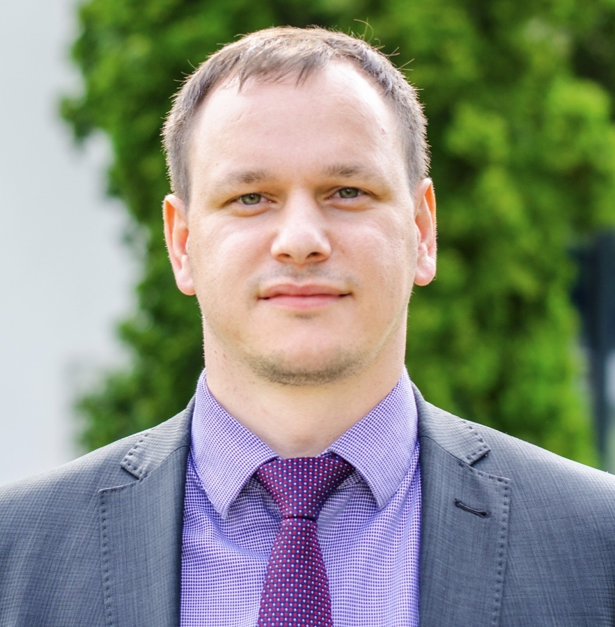 Official photograph Ing. Vojtěch Stehel, MBA, PhD.